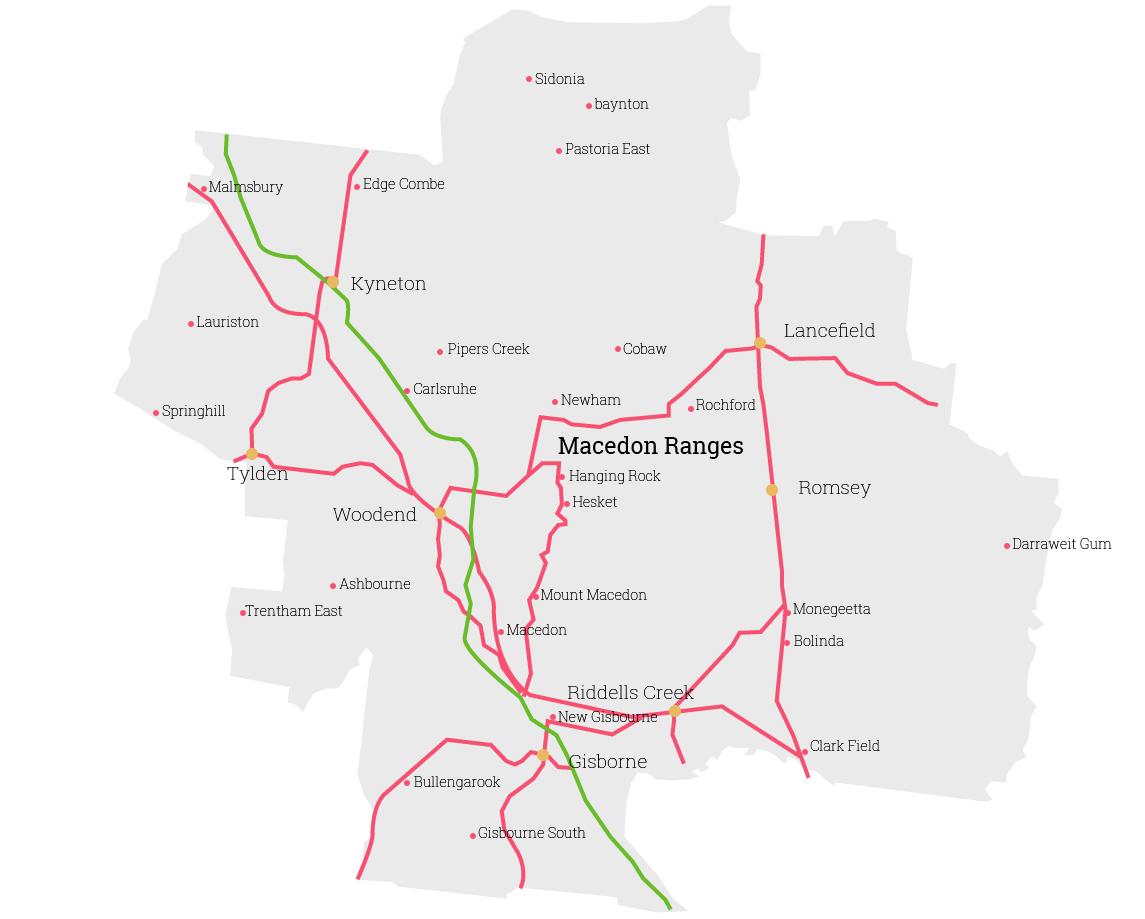 macedon Map